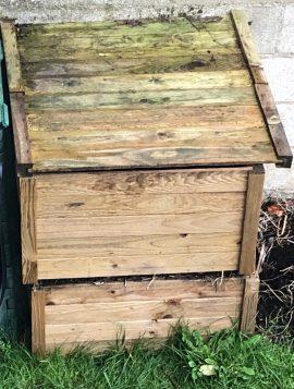 Composteur en bois