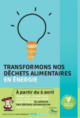 Vallée Sud Grand Paris - Recycler les déchets alimentaires pour produire de l'énergie