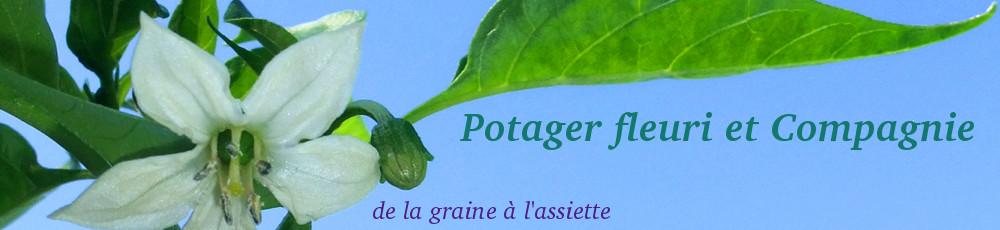 Logo Potager fleuri et Compagnie